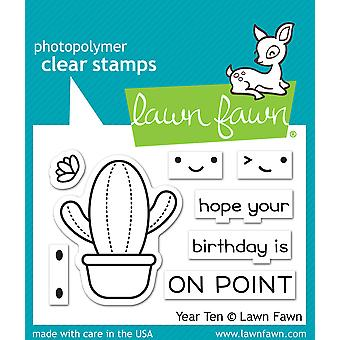 Lawn Fawn Year Ten Clear Stamps