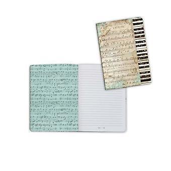 Stamperia Notebook A6 Musik Piano (ENBA6012)
