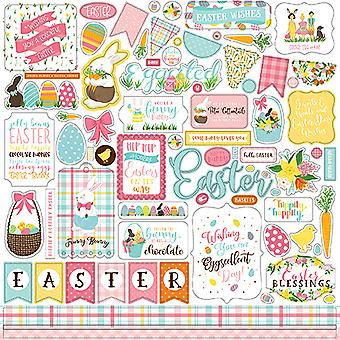 Echo Park I Love Easter 12x12 Inch Element Sticker