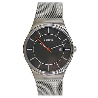 Bering Herren Uhr Armbanduhr Slim Classic - 12939-377 Meshband