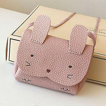 Plush Cute Fashion , Mini Small Wallet Coin Messenger - Adorable Shoulder Bag