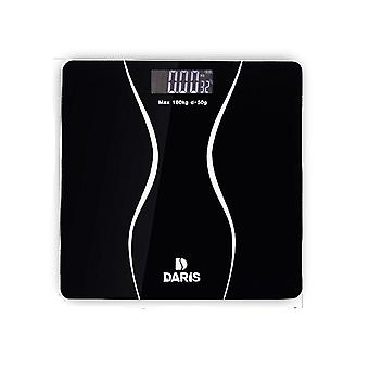 Smart Health Balance Body Tempered Glass Lcd Screen Body Weight Digital Scales