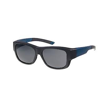 Sunglasses Unisex black / blue with grey lens Vz0036rc