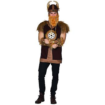 Viking Męski Wojownik Kostium Karnawał Babar Średniowieczny