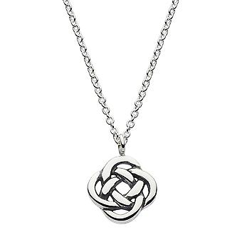 Heritage Sterling Silver Celtic Knot Necklace 9230HP026