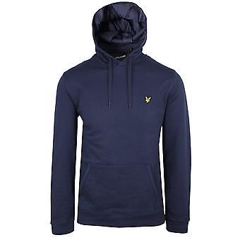 Lyle & scott men's navy hoodie