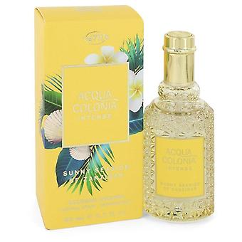 4711 Acqua colonia solig kust av zanzibar eau de cologne intensiv spray (unisex) av 4711 552430 50 ml