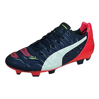 Puma evoPOWER 1.2 FG Jr Boys Firm Ground Football Boots - Purple