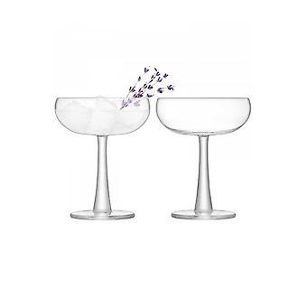 LSA Glassware LSA International Gin 2 Coupe Glasses