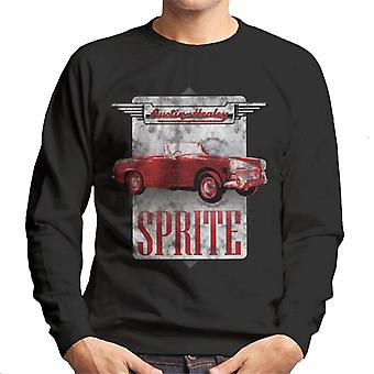 Austin Healey Sprite British Motor Heritage Men's Sweatshirt