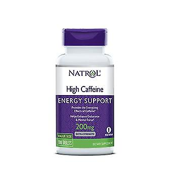 Natrol High Caffeine, 200 MG, 100 Tabs