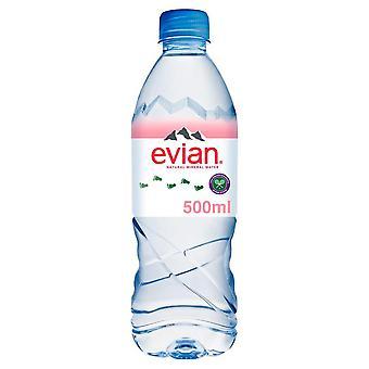 2 x Acqua in bottiglia Evian 24 x 500ml (48 bottiglie)