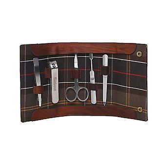 Kit de manucure En cuir Barbour Aydon