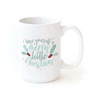 Ha din själv glada lilla julkaffemugg