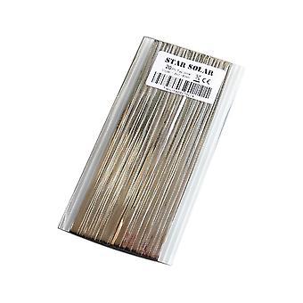Aurinkokennojen välilehti väyläpalkin johto Pv-nauhalle - nauhapaneelin vuotava kynä