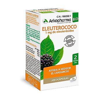 Arkocápsulas Eleuterococo Bio 40 capsules