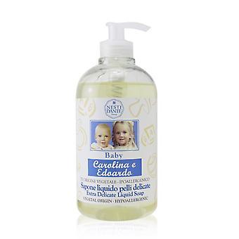 Carolina & Edoardo Extra Delicate Baby Liquid Soap - 500ml/16.9oz