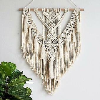 Makramee Wandbehang Wandteppich böhmische gewebte Dekoration