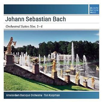 Ton Koopman - Bach : Orchestral Suites nos 1-4 [CD] USA import