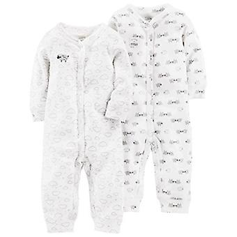 Simple Joys by Carter's Baby 2-Pack Neutral Cotton Footless Sleep and Play, W...