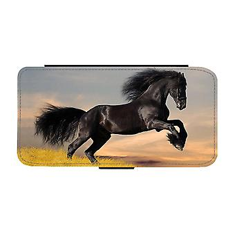 Black Horse iPhone 12 / iPhone 12 Pro Wallet Case