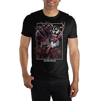 Venomverse symbiote captain america venomized shirt