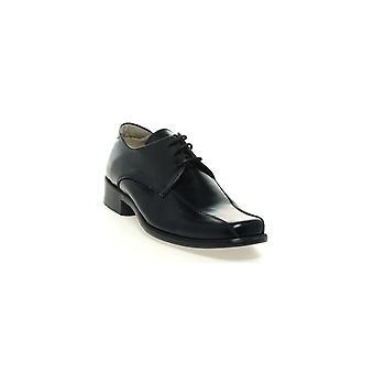 PETASIL Laced Older Style Boys School Shoe