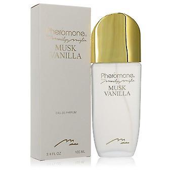 Pheromone Musk Vanilla Eau De Parfum Spray By Marilyn Miglin 3.4 oz Eau De Parfum Spray