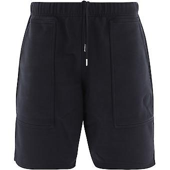 Ami E21hj328747001 Men's Black Cotton Shorts