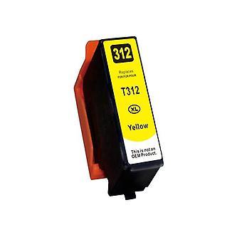 312Xl Premium Yellow Compatible Inkjet Cartridge