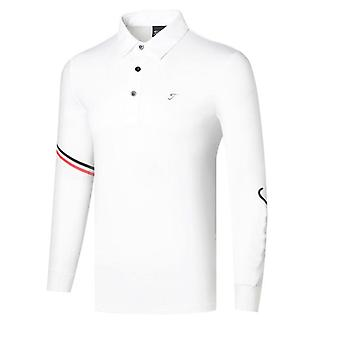 Spring Autumn New Long Sleeve Golf T-shirt, Men's Outdoor Clothes