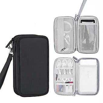 Protective Travel Power Bank Case, External Hard Drive Bag For Romoss Charger