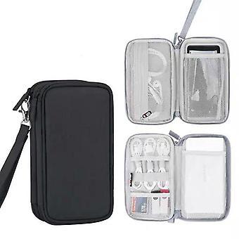 Étui Protective Travel Power Bank, sac disque dur externe pour chargeur Romoss