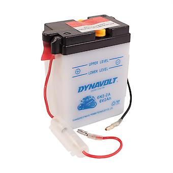 Dynavolt 6N22A Conventional Dry Charge Battery With Acid Pack