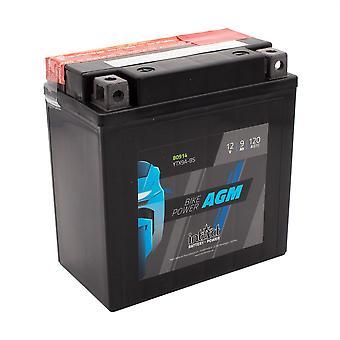 intAct YTX9A-BS Maintenance Free AGM Bike-Power Battery
