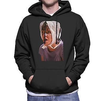 Weird Science Gary With Bra On His Head Men's Hooded Sweatshirt