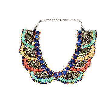 Santa Fe Style Bib Necklace