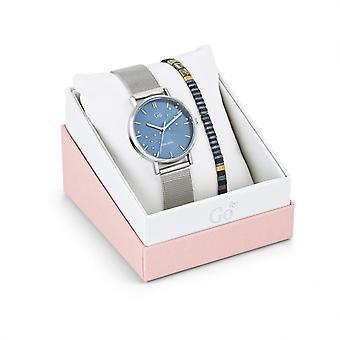 Reloj de mujer Go Girl Only Watches 694607 - Pulsera de acero plateado