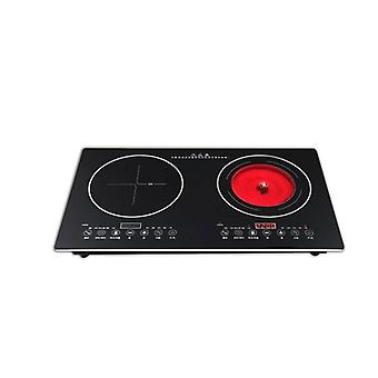 Doppelbrenner Electric Cook Top Induction Cooker (schwarz)
