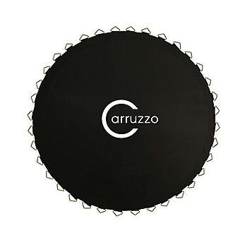 Tissu trampoline 304 cm noir - 54 yeux crochet - tapis sautant