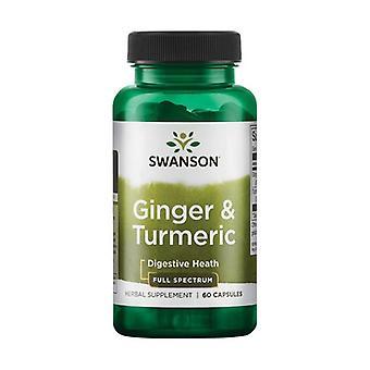 Ginger & Turmeric 60 capsules