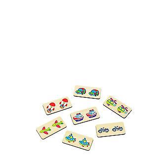 Alatoys Wooden  dominoes 3