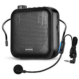 Przenośny wzmacniacz głosowy U-disk Mikrofon Odtwarzacz Mp3