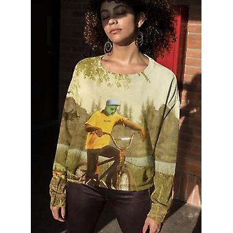 Art relief sublimation sweatshirt