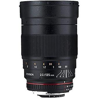 Rokinon cine ds 135mm t2.2 ed umc telephoto cine lens for olympus & panasonic...