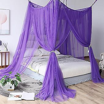 Mosquito nets, square hanging mosquito nets, anti-mosquito bites on single beds and double beds, easy to install
