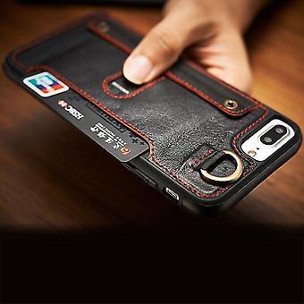 Leather Flip Wallet Slim Case
