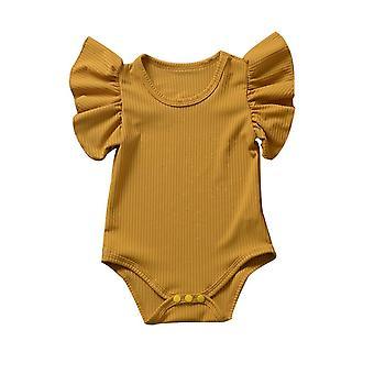 Newborn Body Suit, Baby Cotton Short Sleeve Bodysuit Set