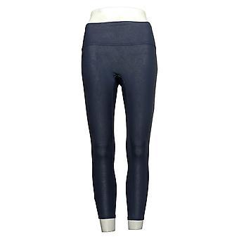 Alle Worthy Hunter McGrady Petite Leggings Ultimate Faux Leder Blauw A387466