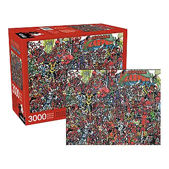 Marvel - spregevole puzzle deadpool 3000pc